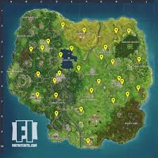 Where To Place Vending Machines Fascinating Fortnite All Vending Machine Locations VG48