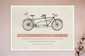 Wedding Invitations Online Classic Bike Vintage Vector Design