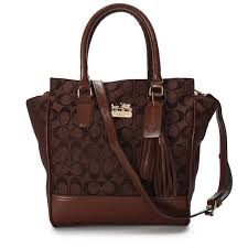 Coach Legacy Tanner In Signature Small Coffee Crossbody Bags AAC