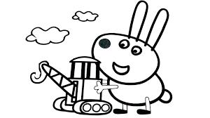 Peppa Pig Coloring Pages Birthday Top Free Printable Pig Coloring