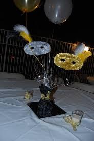 Masquerade Ball Decoration Ideas NonFloral Centerpieces Masquerades Centerpieces and Masquerade 14