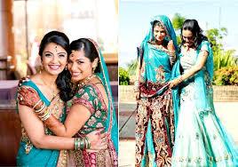 sisters on indian wedding