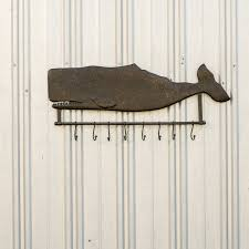 Hanging Coat Rack On Wall Ragon House Collection Metal Whale Wall Hanging Coat Rack with Hooks 58
