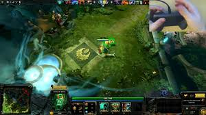 lets try dota 2 on the steam controller 720p video dailymotion
