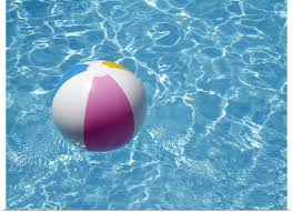 beach ball in pool. Poster-Print-Wall-Art-entitled-Beach-ball-in- Beach Ball In Pool