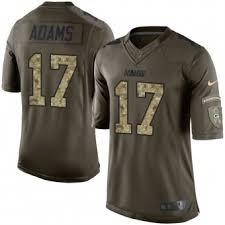 Service Green No Packers Elite Bay Nike To - Adams Salute Davante Jersey 17|At Washington (NFC Wild Card, Jan
