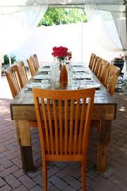 10 outdoor upcycled table reclaimed pallets handmade patio furniture