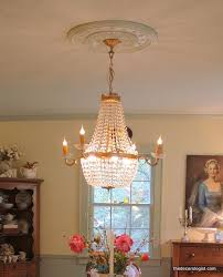 my dining room chandelier and ceiling medallion