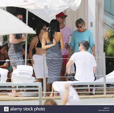 Actor Matt Damon spends a day at the pool with his family and friends Stock  Photo - Alamy