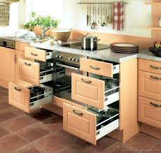 open kitchen cabinet designs modern kitchen cabinets with drawerodern light wood built in oven
