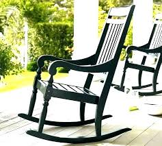 black rocking chair er barrel rockers for impressive porch rocker furniture within best outdoor chairs