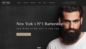 Barber Shop Website Wordpress Theme Showcase Ciqawel Barbershop Theme