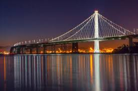 The New Bay Bridge at Night