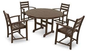 Amazon Trex Outdoor Furniture by Polywood 5 Piece Monterey