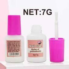 nail glue super strong false clear 7