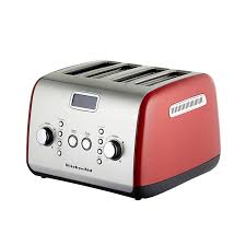 kitchenaid artisan 4 slice toaster empire red 197 00