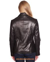 women s scuba front zipper er soft leather jacket new zealand lamb skin new start elivehelp btncode