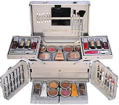 just gold makeup kit set of 77 piece jg227