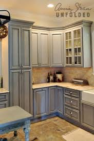 chalk paint kitchen cabinets. How To Paint Kitchen Cabinets With Chalk Annie
