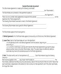 Room Rental Agreement Doc – Katieburns