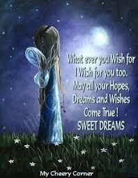 Wishing Sweet Dreams Quotes Best of ຮт☆яຮ Bright Starry Night X ღɱɧღ Make A Wish Stars