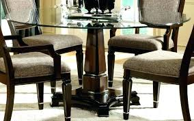 round wood and glass dining table wooden glass top dining table glass dining table glass