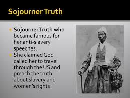 sojourner truth essay sojourner truth essay professional essays  sojourner truth essaynew movements in america chapter section p immigrants and sojourner truth