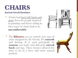 type of furniture design. 20. CHAIRS Ancient Greek Furniture Type Of Design U