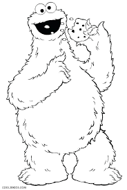 Coloring Pages Of Monsters Monster Inc Coloring Pages Teaching Board