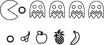 Small Picture Pac Man Coloring Pages at Coloring Book Online