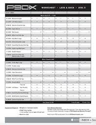 p90x workout sheets p90x legs and back free pdf