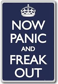 Amazon Com Now Panic And Freak Out Motivational Quotes
