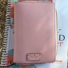 Kate Spade Pink Zip Agenda Planner Organizer