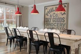 7 vintage sign dining room