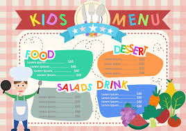 Free Templates For Kids Kids Menu Templates Download Free Vector Art Stock Graphics Images