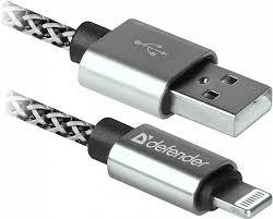 "Кабель""<b>Defender</b>"" ACH01-03T PRO <b>USB</b>(<b>AM</b>) - Lightning (M), для ..."