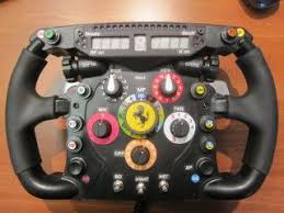 The same design used by fernando alonso in his ferrari 150º italia. Thrustmaster F1 Wheel Mod With Simr F1 Display Switches And Encoders Wheel Racing Simulator Mod