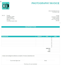 Free Invoice For Mac New Photography Invoice Template Word Bill Free Invoices Templates
