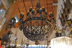 exceptional and very rare imposing 1920 wrought iron chandelier at 1stdibs