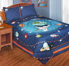 bedroom galaxy bedspread luxury blue outer space bedding twin or full quilt sets galaxy space