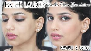 estee lauder double wear foundation review demo arshia s makeup you