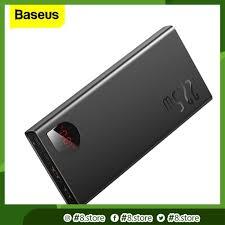 Sạc Dự Phòng Baseus Cổng USB C PD 4.0 3.0 Tốc Độ Cao Cho iPhone 11 20000mAh