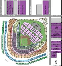Wrigley Field Seating Chart Prices Wrigley Field Tickets And Wrigley Field Seating Charts