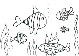 Fish Coloring Pages For Kindergarten Fish Coloring Pages Free