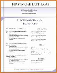 Resume Sample Download In Word 12 English Cv Template Download Penn Working Papers