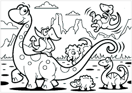 You are easy to download, print or play online! Dinosaurs For Kids Brachiosaur Family Dinosaurs Kids Coloring Pages
