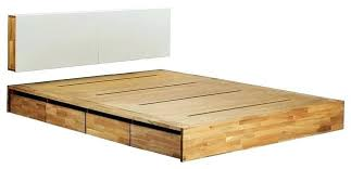 platform king bed with storage artofmindinfo