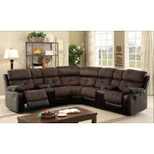 simmons lucky espresso reclining console loveseat. furniture of america living room recliner sectional w consoles brown espresso champion fabric \u0026 leatherette sofa simmons lucky reclining console loveseat