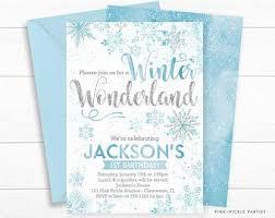 Snowflake Birthday Invitations Snowflake Party Invites Andone Brianstern Co