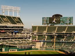 O Co Coliseum Seating Chart Baseball The Beauty Of Americas Ugliest Ballpark The New York Times